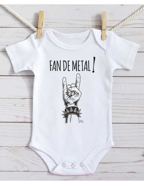 Body Bébé - Fan de Métal