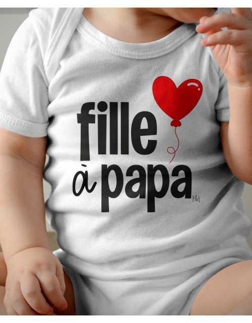 Body Bébé Filles à Papa