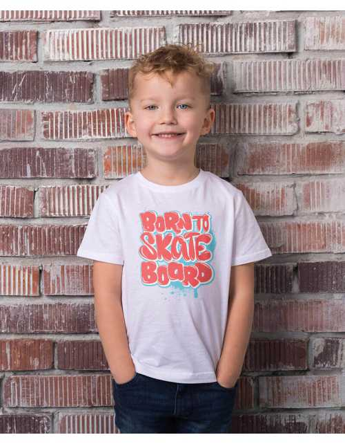 T-Shirt Born to Skate