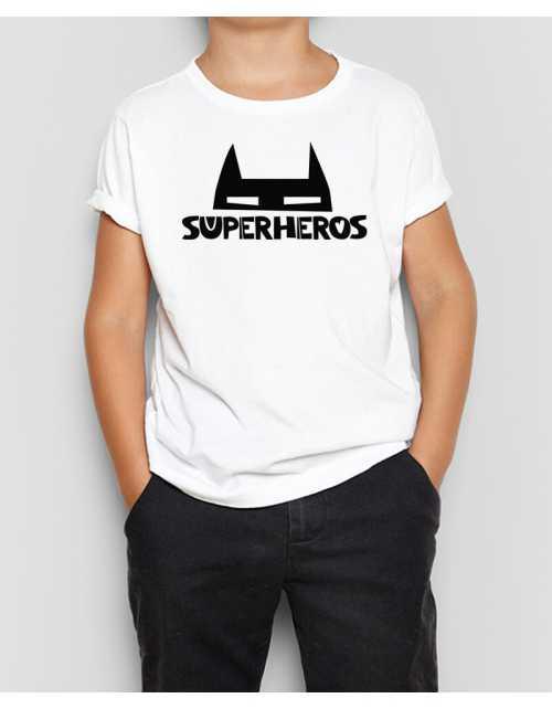 T-Shirt Masque de Super Héros