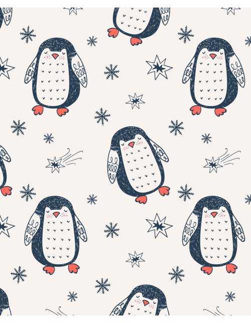 Papier Peint Pingouin