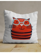 Coussin Chat Intello