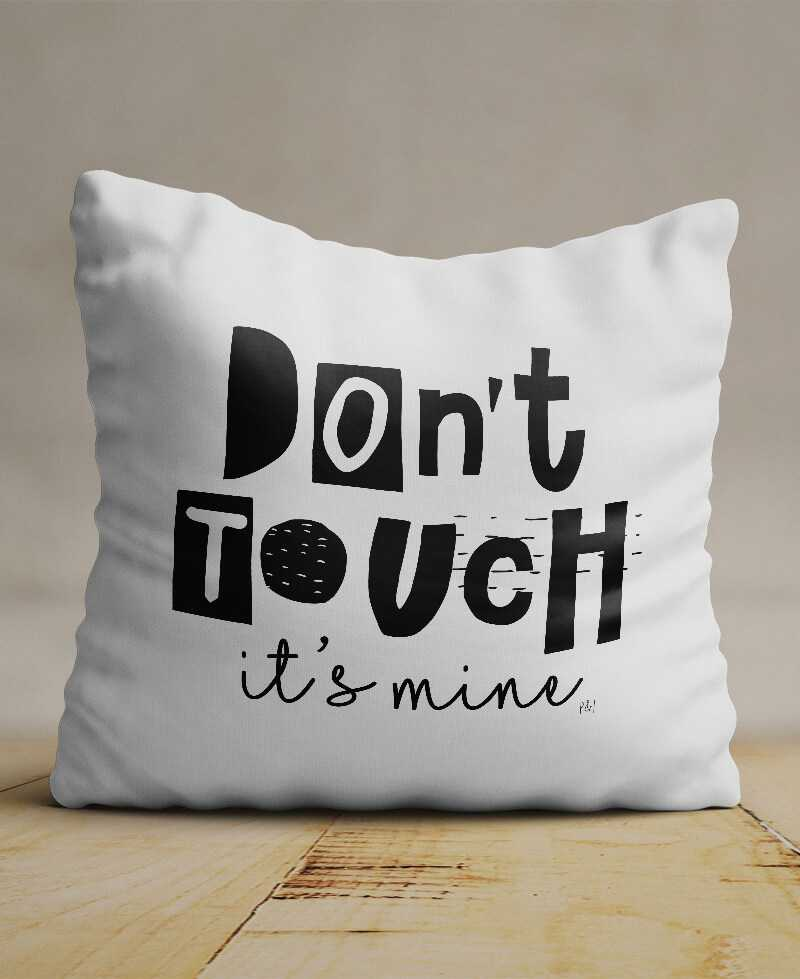 Coussin Don't Touch