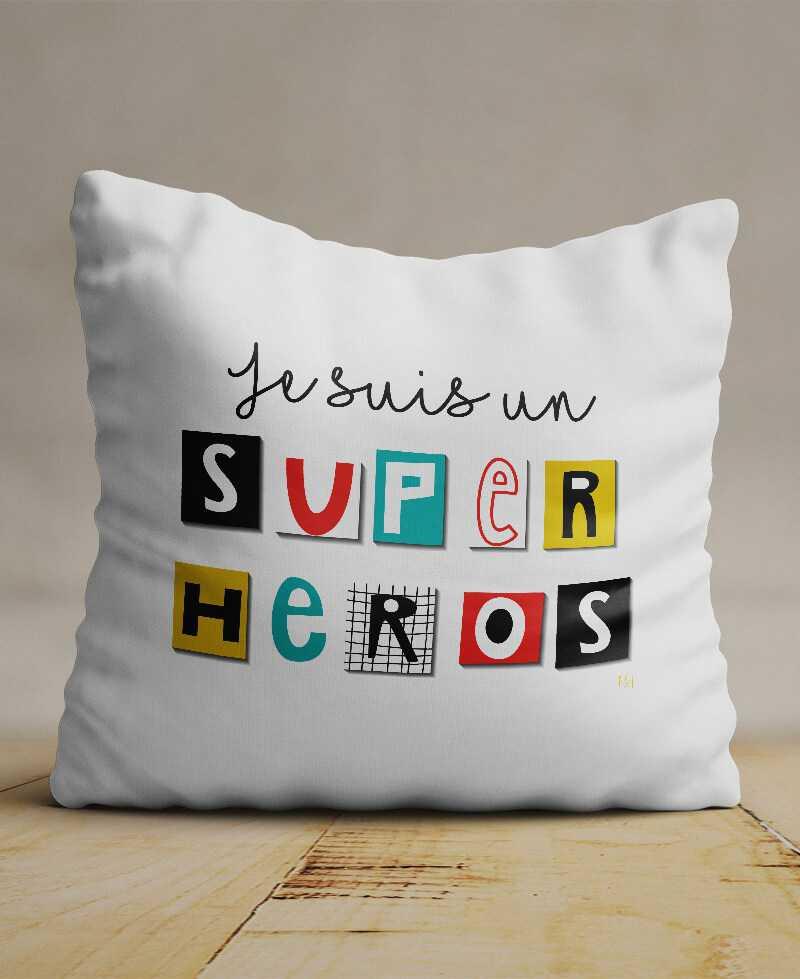 Coussin Super Héros