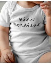 Body Bébé - Mini Monsieur
