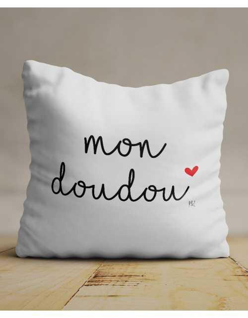 Coussin Mon Doudou