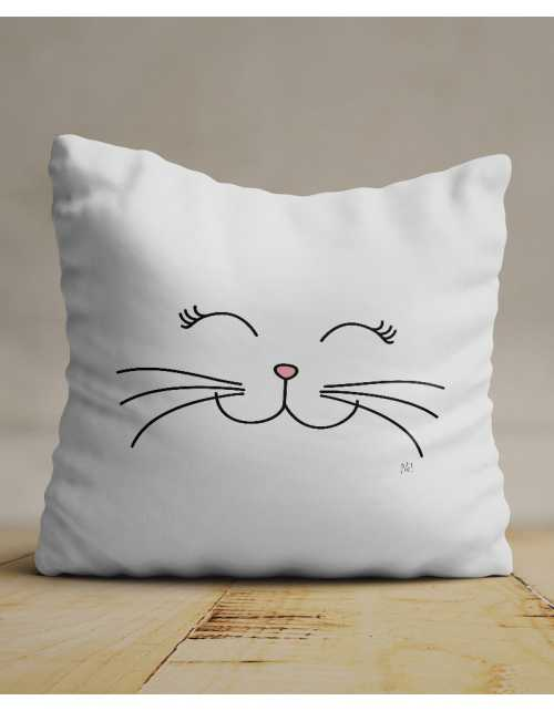 Coussin Chat Chou