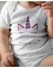 Body Bébé - Magique Licorne