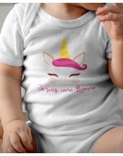 Body Bébé - Je suis une Licorne