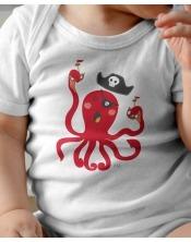 Body Bébé - Pieuvre