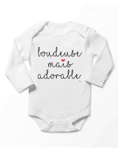 Body Bébé -Boudeuse