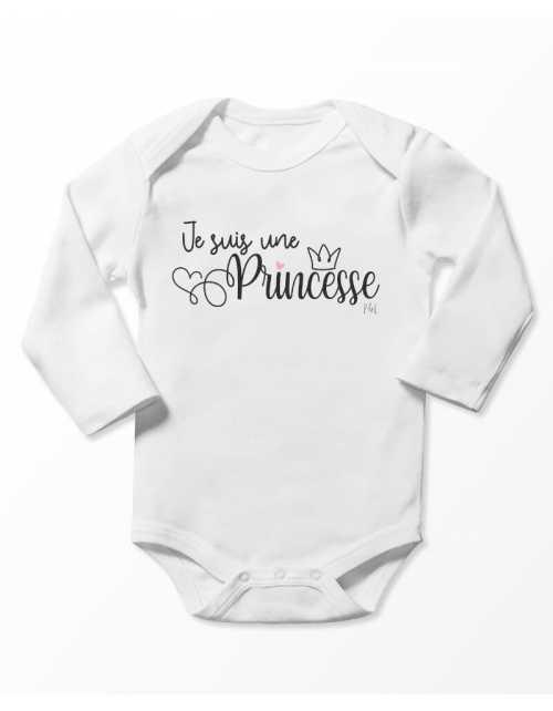 Body Bébé - Je suis une princesse