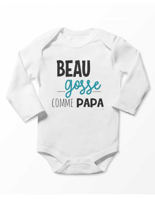 Body Bébé - Beau Gosse comme Papa