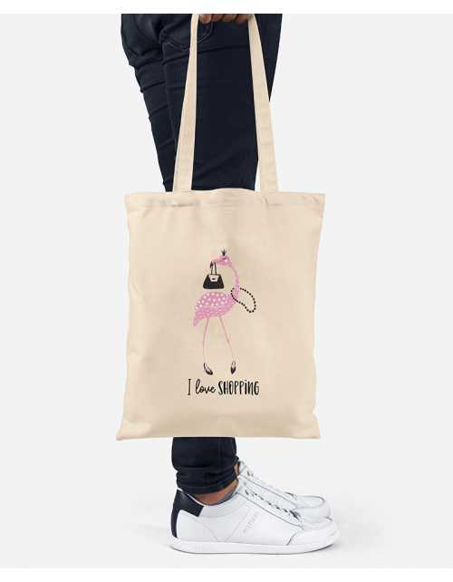 Tote Bag - Love Shopping