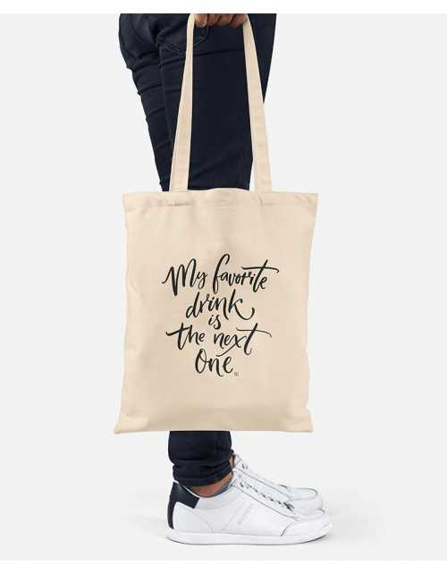 Tote Bag - Favorite Drink