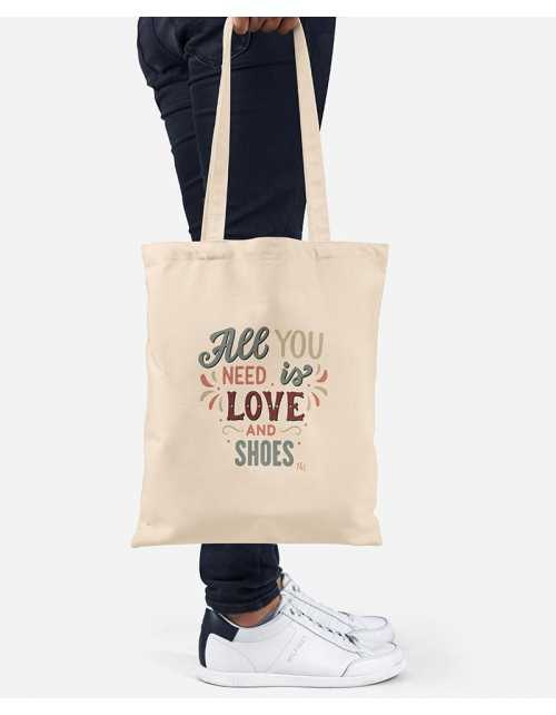Tote Bag - Love & Shoes
