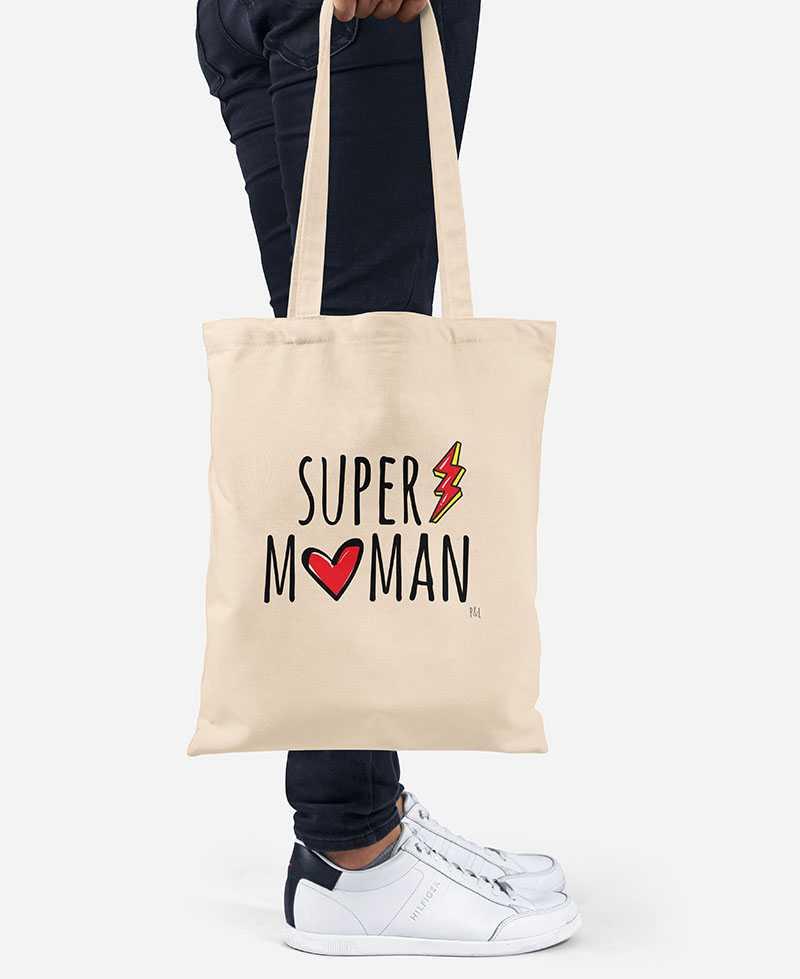 Tote Bag - Super Maman