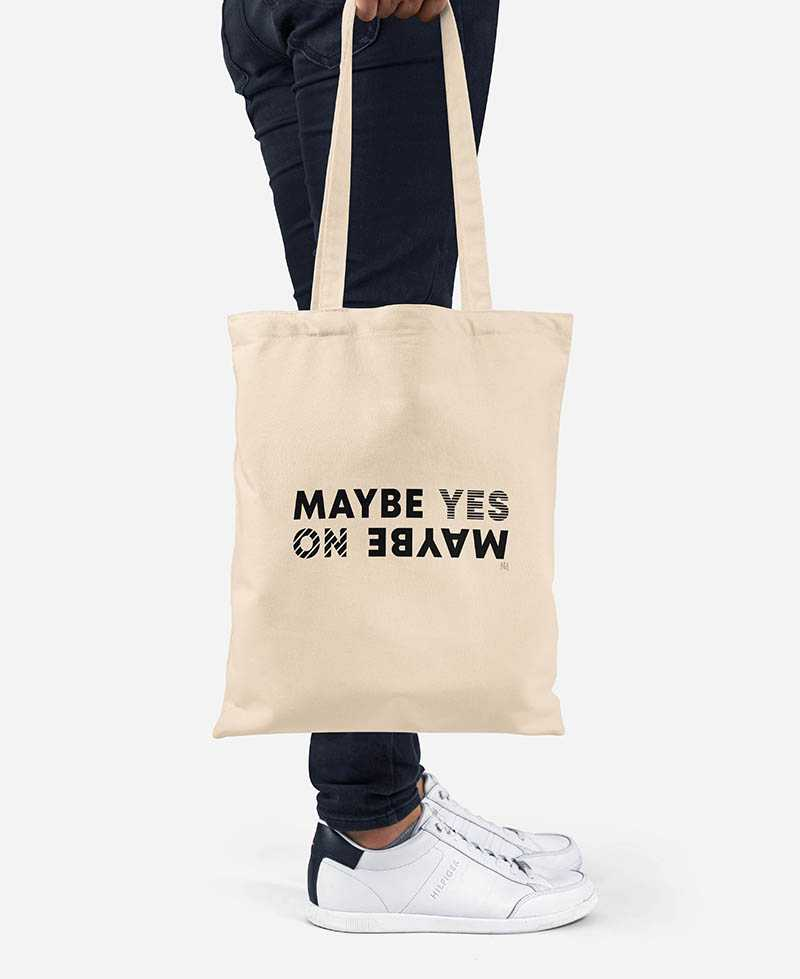 Tote Bag - Maybe Yes No