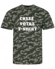 T-shirt Camouflage à personnaliser Homme