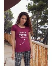 T-shirt Premium épais Femme à personnaliser
