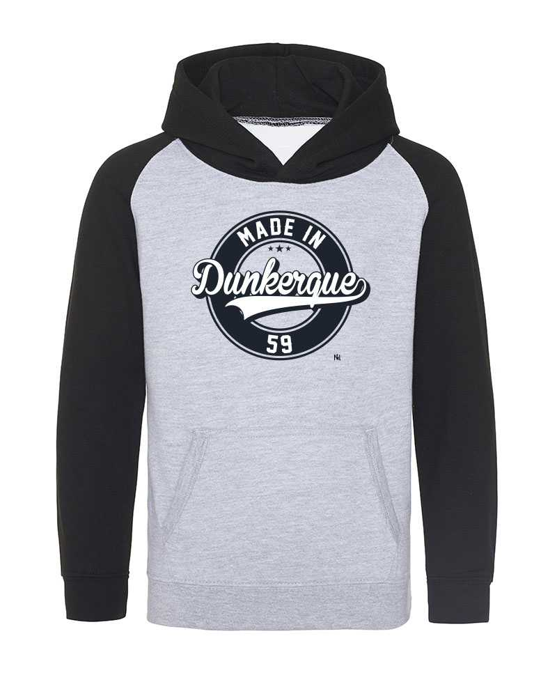 Hoodie Sweat Capuche Baseball - Made In DK