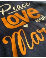 T-shirt Peace Love & Maroilles