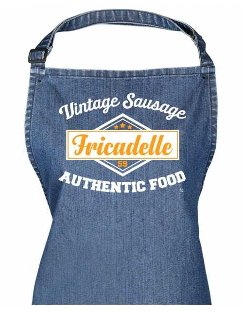 Tablier Denim - Fricadelle