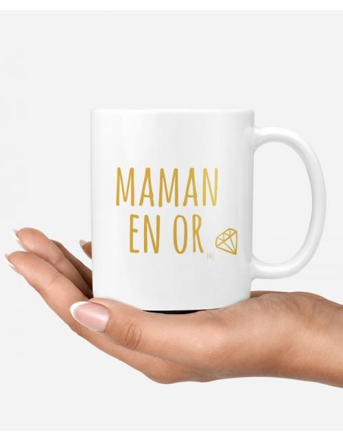 Mug - Maman en OR