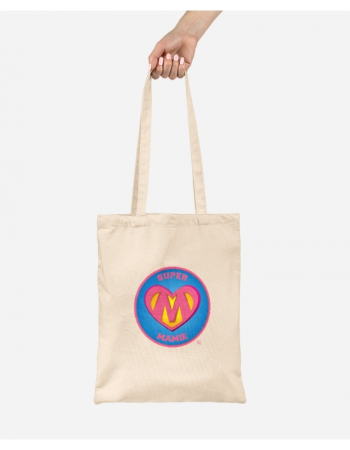 Tote Bag Super Mamie