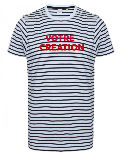 T-Shirt Mariniere Unisexe