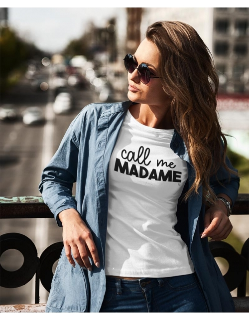 T-shirt Call Me Madame