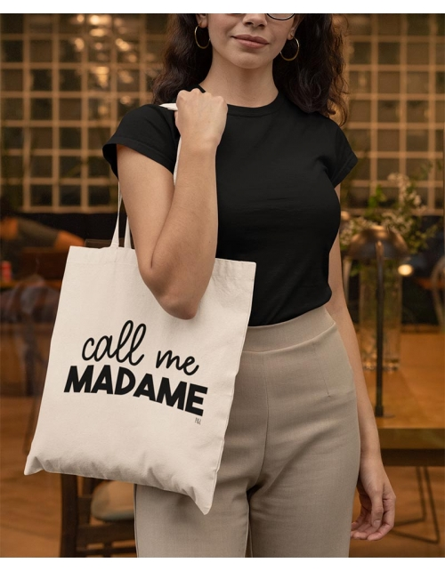 Tote Bag - Call Me Madame