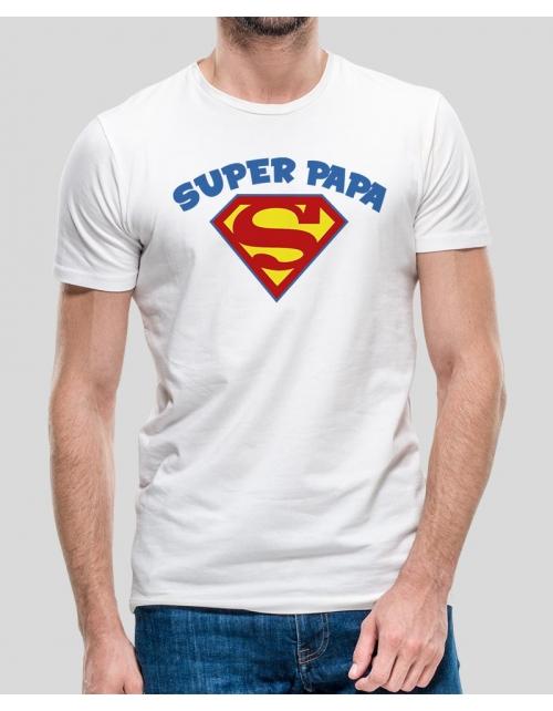 T-shirt Papa Superman