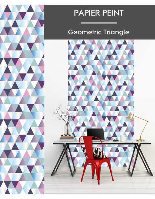 Papier Peint Geometric Triangle