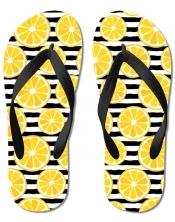 Tongs Rondelles de citron
