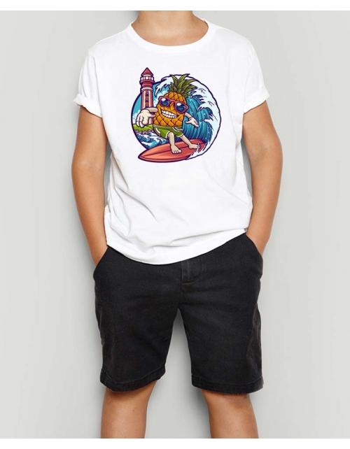T-Shirt Ananas Surf