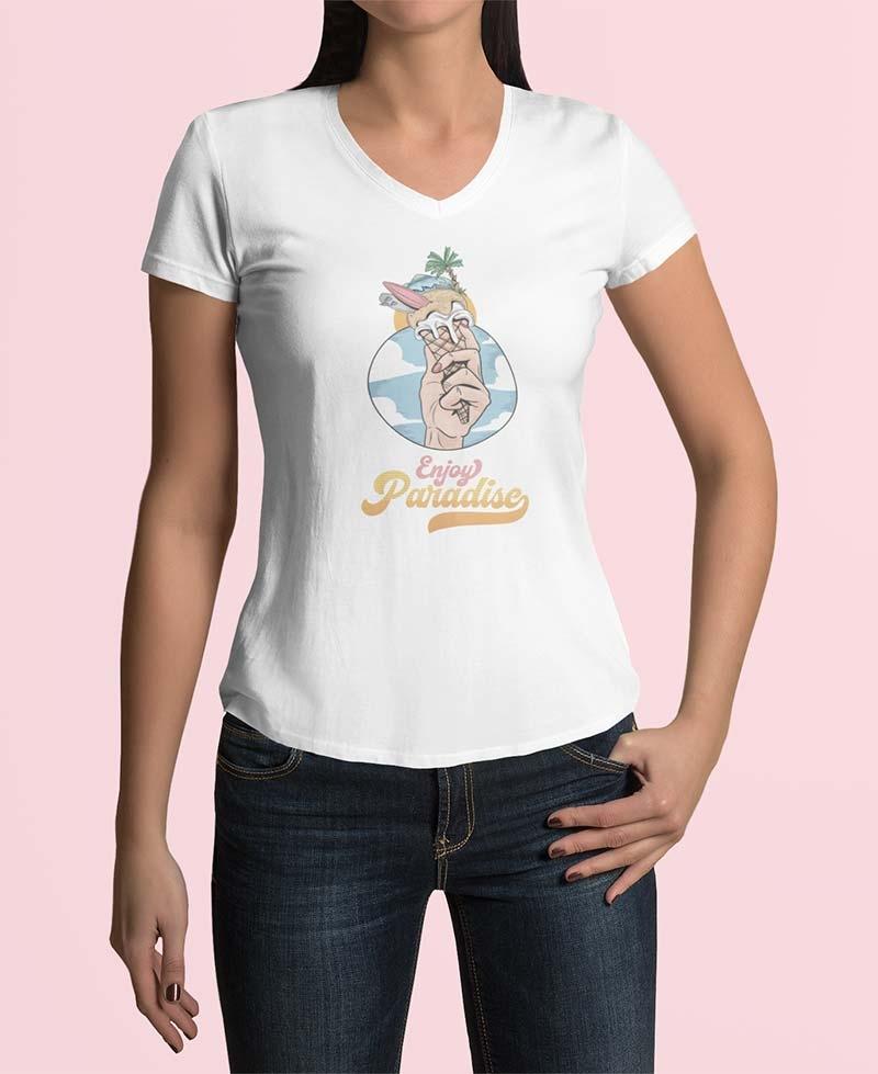 T-shirt Enjoy Paradise