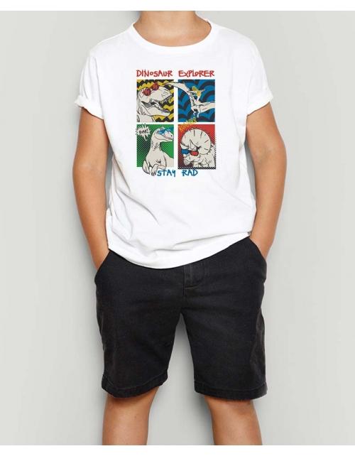 T-Shirt DinoPopArt