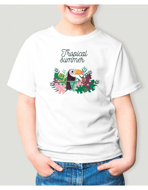T-Shirt Tropical Summer