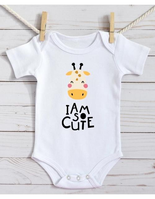 Body Bébé - Girafe