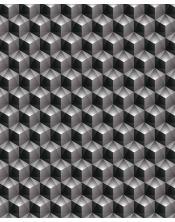 Papier Peint 3D Black Cube