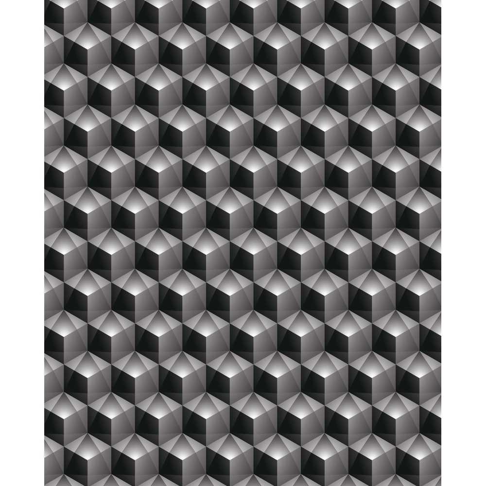 l de papier peint intiss effet 3d motifs g ometriques. Black Bedroom Furniture Sets. Home Design Ideas