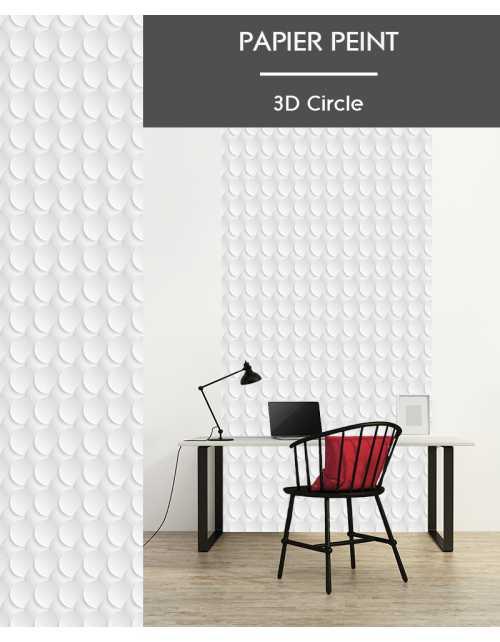 Papier Peint 3D Circle