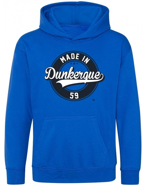 Sweat Capuche Enfant - Made In DK
