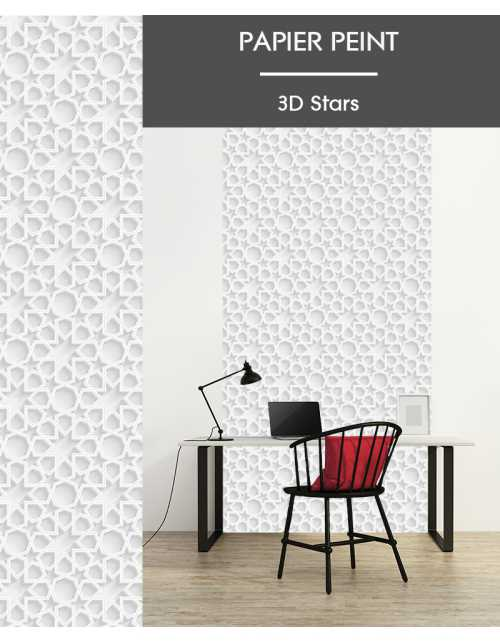 Papier Peint 3D Stars