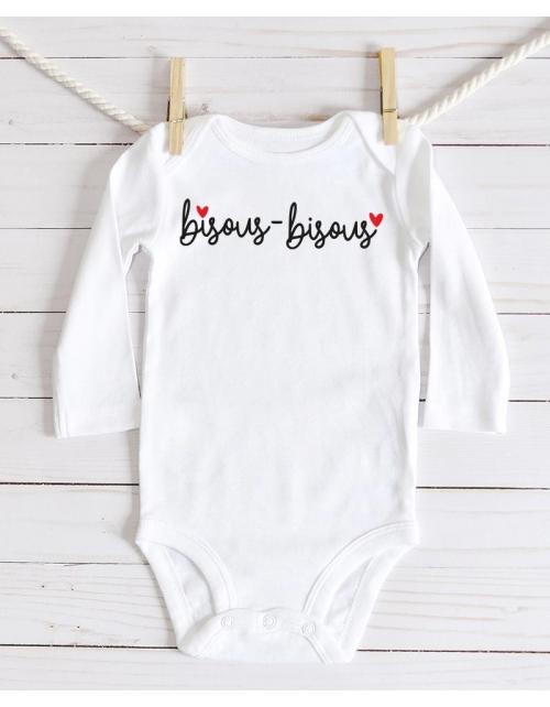 Body Bébé - Bisous Bisous