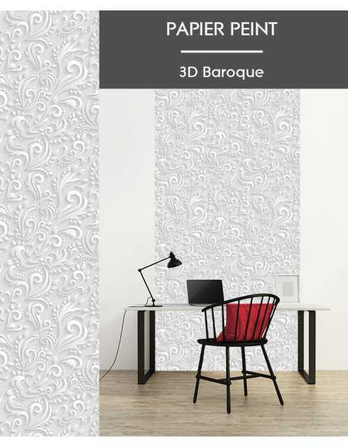 Papier Peint 3D Baroque