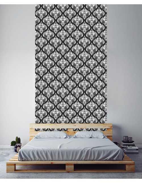 collection de l de papier peint baroque printmydeco. Black Bedroom Furniture Sets. Home Design Ideas