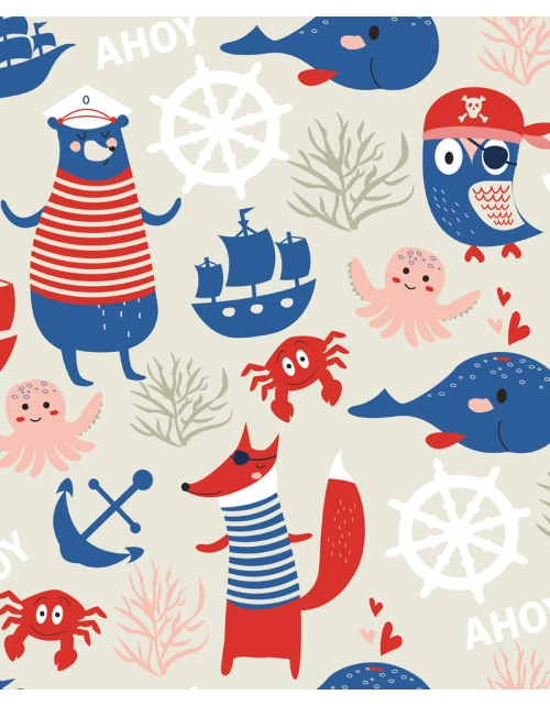 Papier Peint Pirates