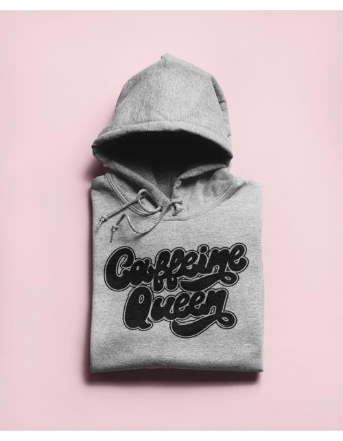 Hoodie Caffeine Queen